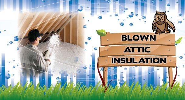 Blown Attic Insulation Main Image