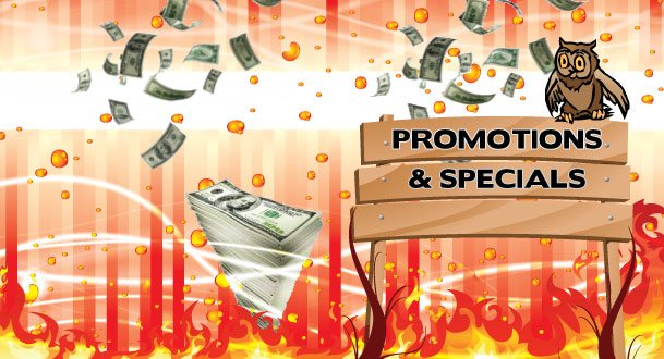 Promotions and Specials Main Image